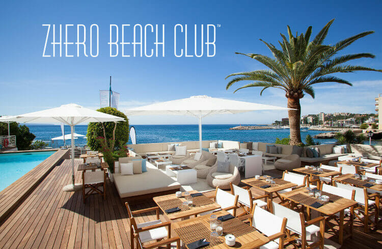 zhero beachclub restaurant pool beach