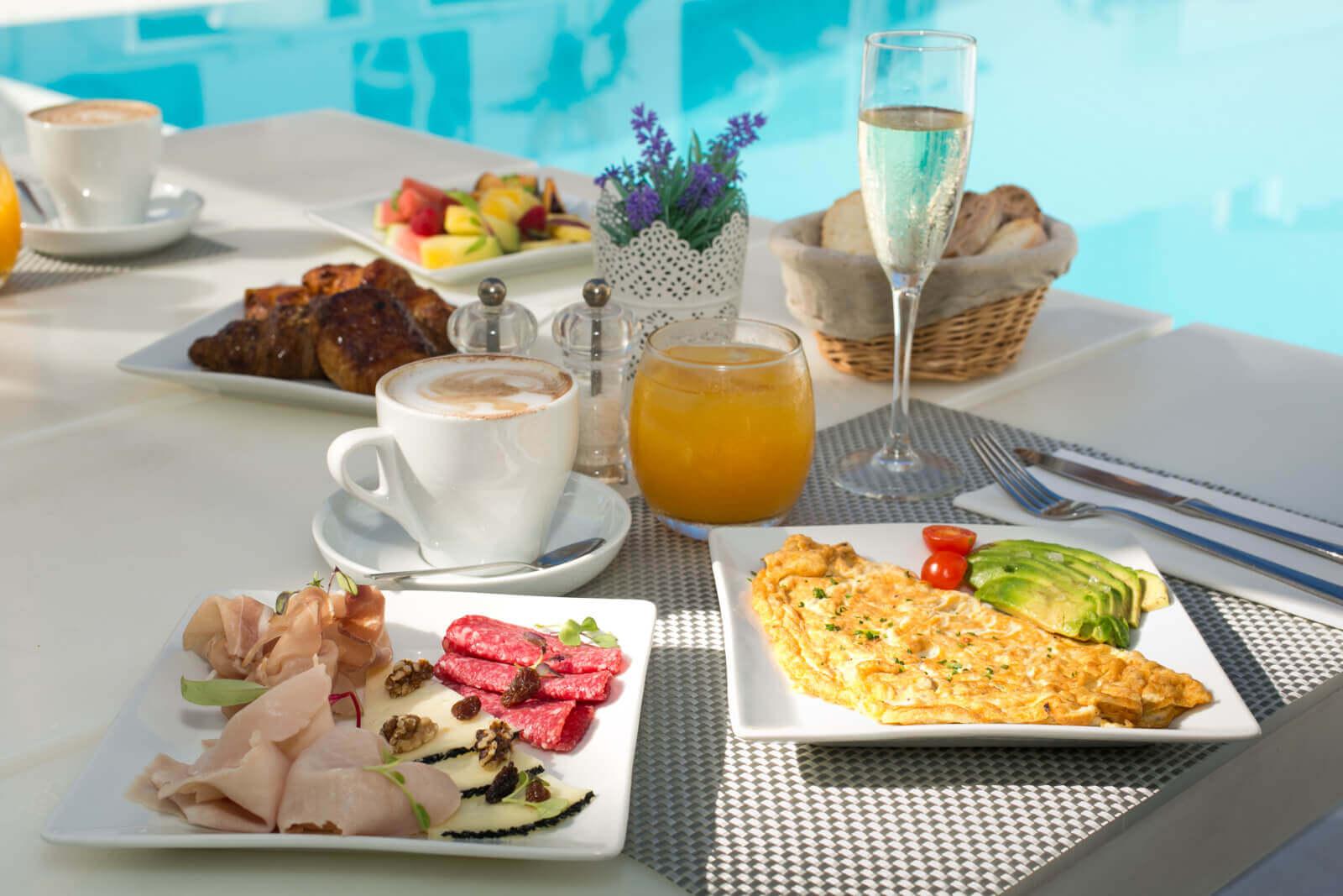Zhero Hotel Palma Breakfast Poolside