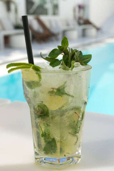 Zhero Hotel Palma Poolside Bar Cocktail Mojito