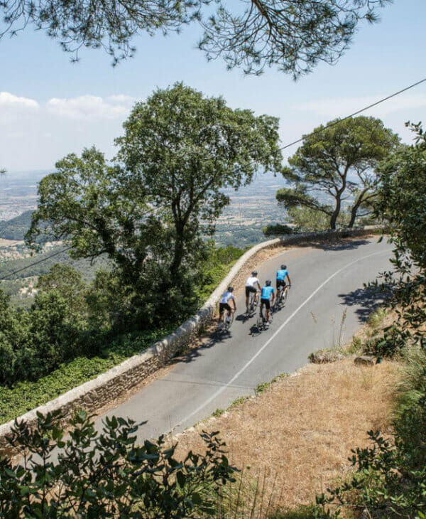 Guidade cykelturer på Mallorca