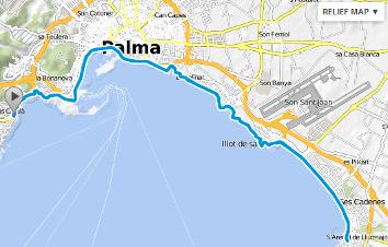 Fahrradtour Palma de Mallorca