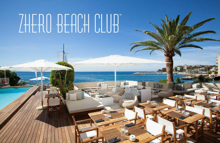 zhero beachclub restaurang pool
